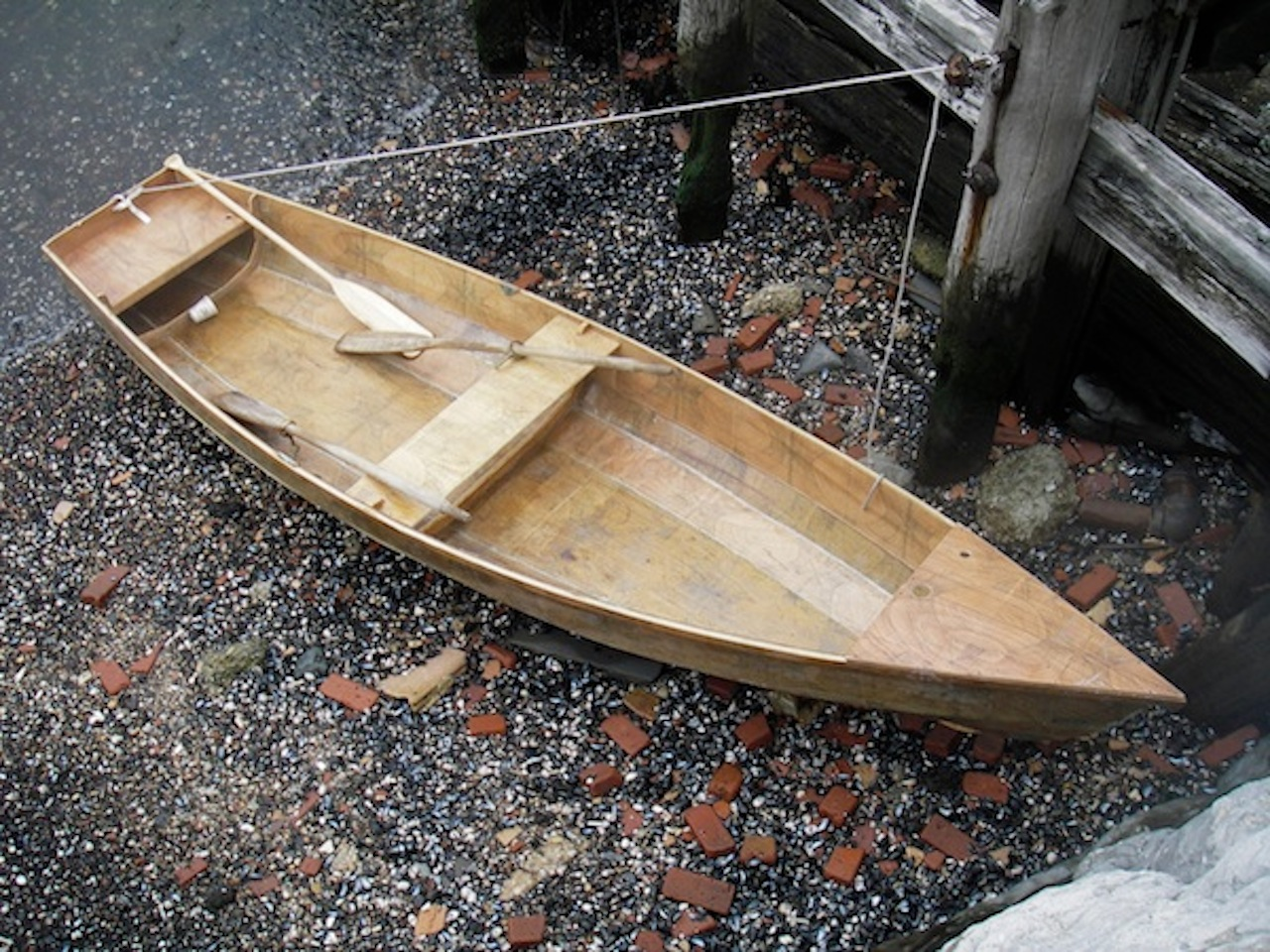 Marie Lorenz's rowboat (Photo courtesy Marie Lorenz)