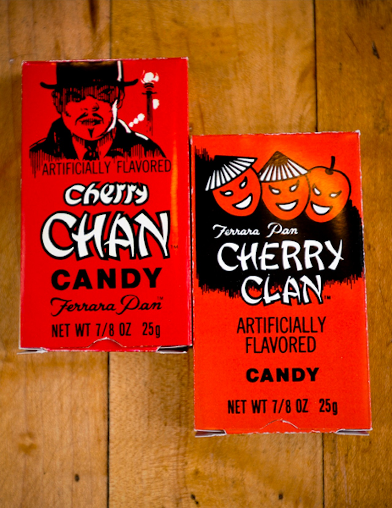 Cherry Chan and Cherry Clan boxes from Liebig's collection