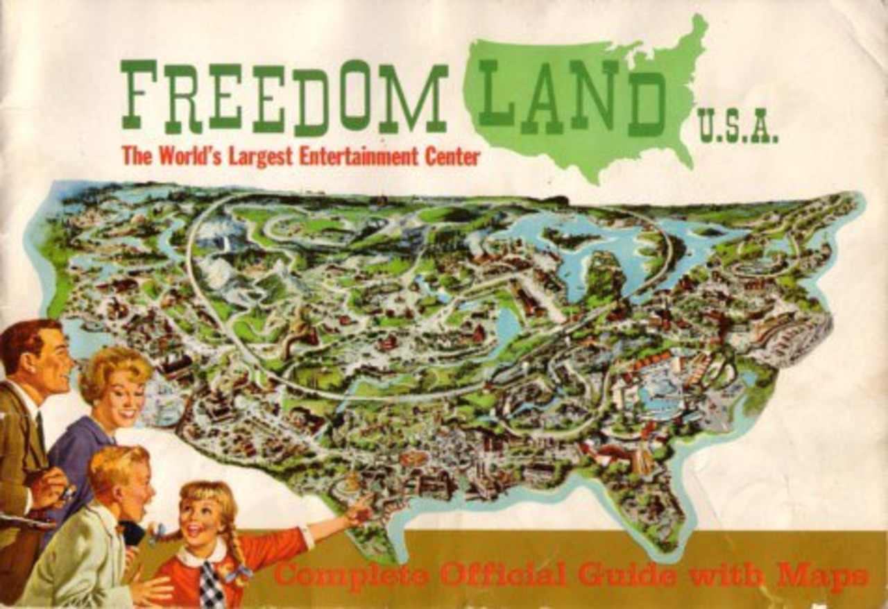 Opening season brochure for Freedomland (Courtesy Freedomland U.S.A./Facebook)