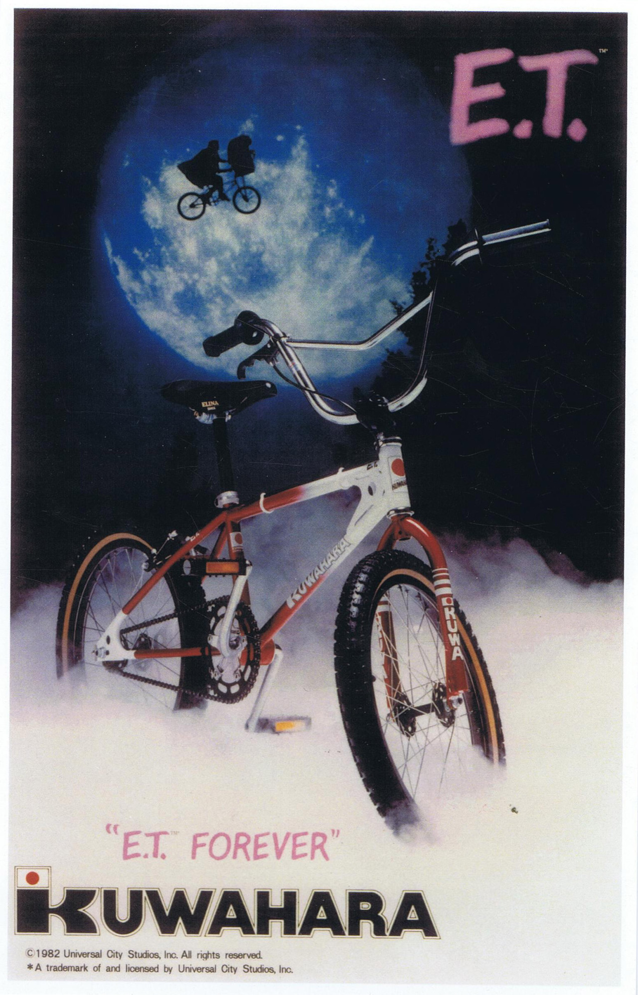 One of the original posters created by  Howie Cohen's company, Everything Bicycles. (courtesy of Howie Cohen).