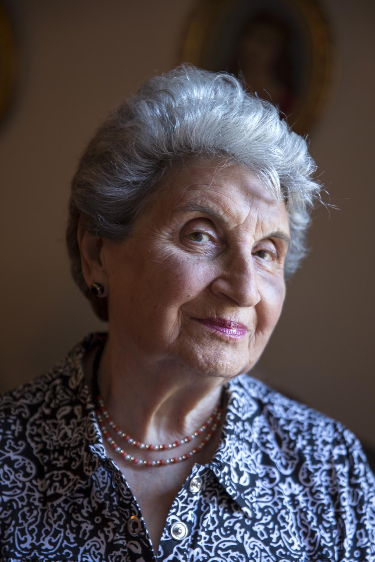 Elana Berkovits was 16 when she and her family were taken to Auschwitz.