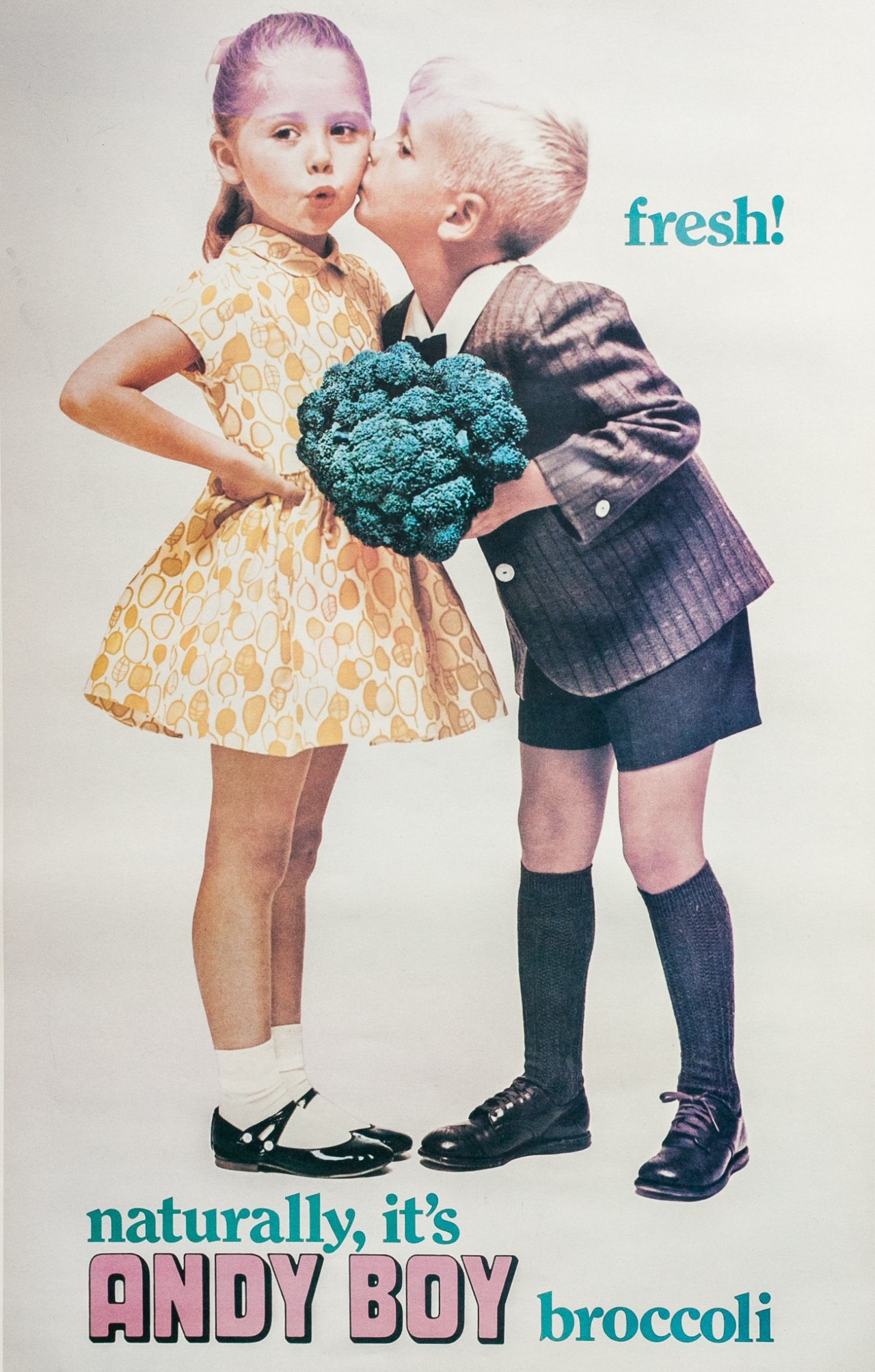Poster image #1 of 3 Andy Boy Broccoli.[courtesy of Matthew D'Arrigo]