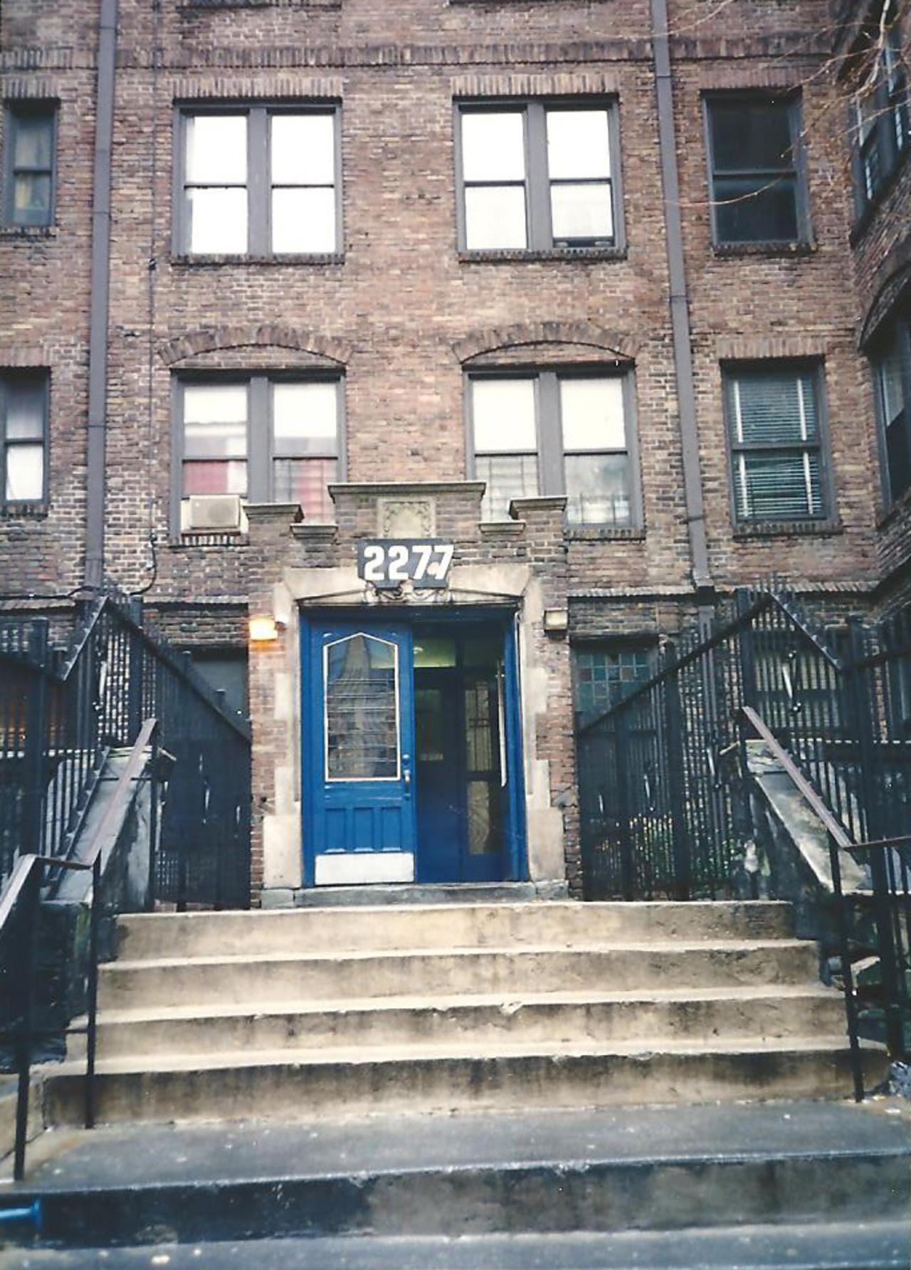 2277 Andrews Avenue, my home for the year.
