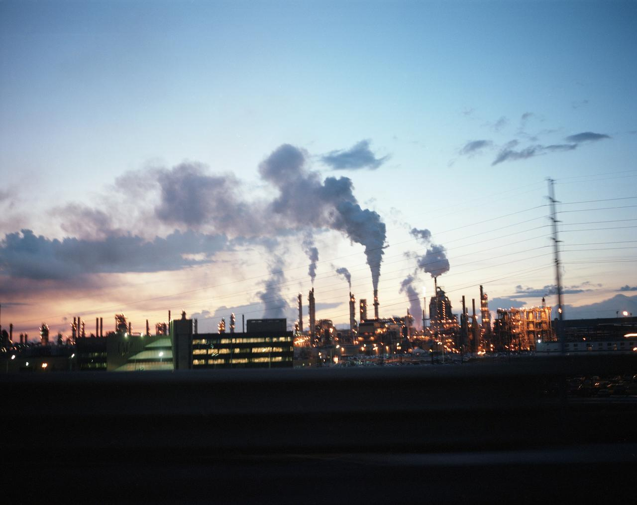 Syncrude's Mildred Lake plant, north of Fort McMurray.
