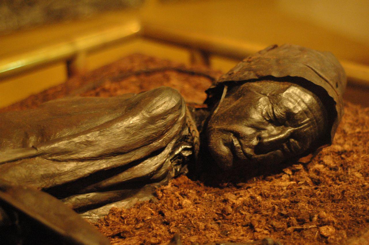 The Tollund Man. (Photo by Boleyn/Flickr)