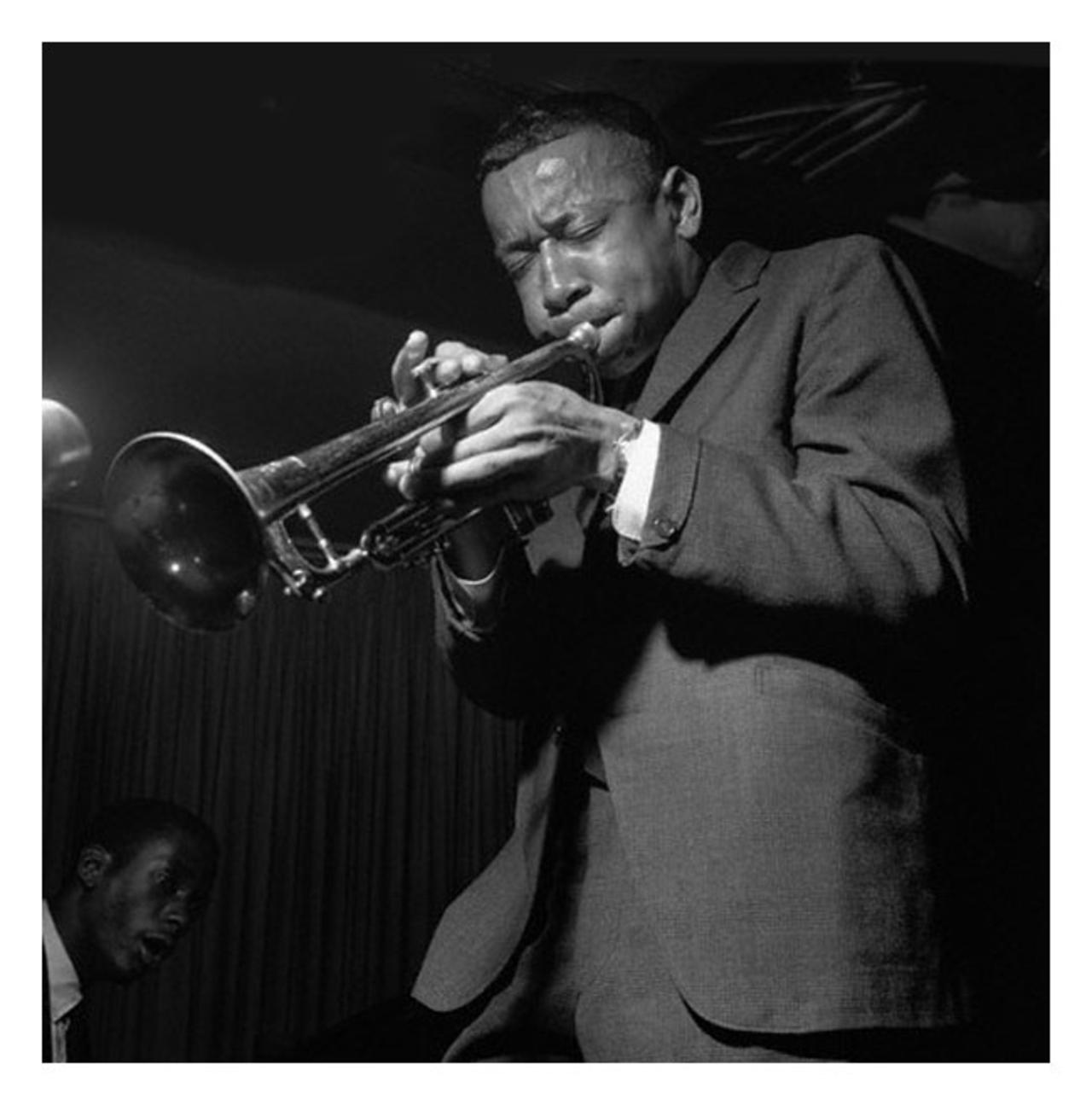 Lee Morgan (Photograph by Francis Wolff © Mosaic Images LLC, used by permission)