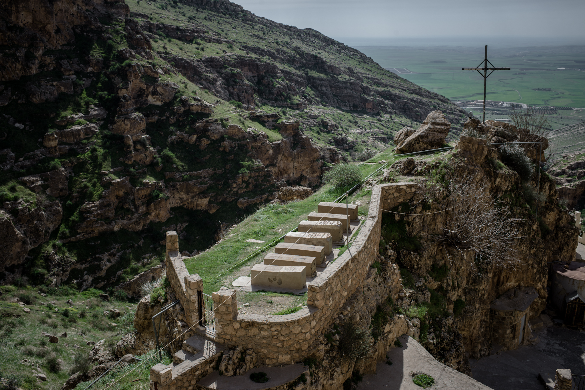 Rabban Hormizd Monastery near Alqosh, Iraq, February 27, 2016.
